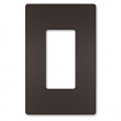 Legrand, RWP26DBCC6 , One-Gang Screwless Wall Plate, Dark Bronze , M79077