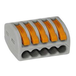 Wago 222-415 LEVER-NUTS 5 Conductor Compact Connectors 40 PK