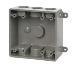 TayMac, Plastic Outlet Box, PDB77550WH