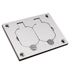 828r-tcal :: coverplate :: recessed floor box :: wiremold products