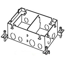 Exceptional Wiremold, 880S2, Omnibox Series Steel Floor Box