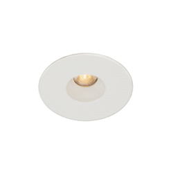 WAC Lighting, Round Housing Trim Recessed Can Light, HR-LED211E-W-WT