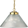 Progress Lighting, PolBrs 1-lt Pendant, P5127-10
