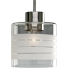 Progress Lighting, BrsNckl 1-lt Pendant, P5159-09