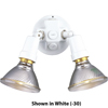 Progress Lighting, Blk 2-lt WallLntrn, P5207-31