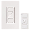 Lutron P-PKG1W-WH Caseta Wireless Starter Kit (Pico Controller + In-Wall Dimmer + Faceplate) in White