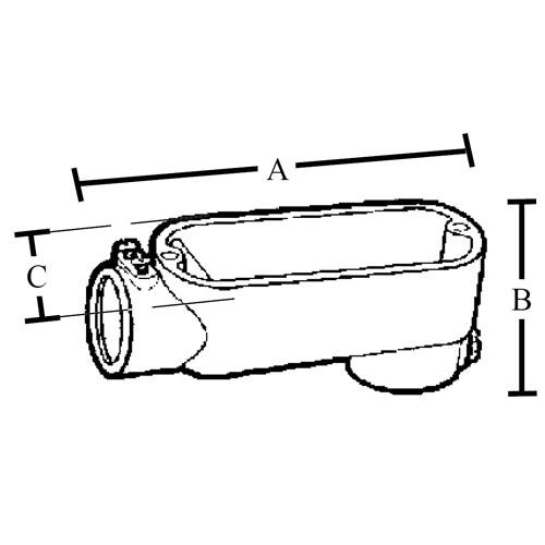 3 u0026quot  emt set screw type  u0026quot lb u0026quot  conduit bodies  copper free