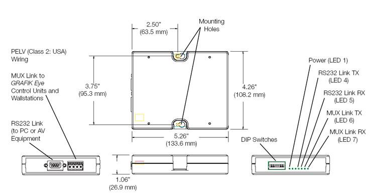 Grx Ci Rs232 Interface And More Lutron Mrsupply Com Autowatch 280rl Wiring Diagram Pdf Autowatch 276rli Wiring Diagram Pdf Autowatch Immobiliser Wiring Diagram