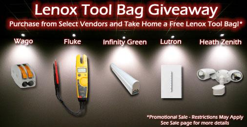 Free Lenox Toolbag ($50) Giveaway !