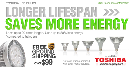 TOSHIBA LED LIGHT BULBS
